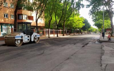 Operación asfalto 2021 en Peñagrande