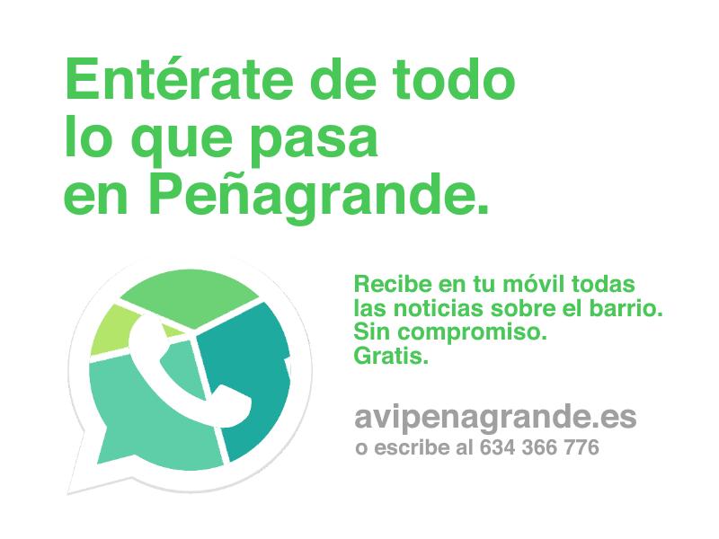 Nuevo canal de información para los vecinos de Peñagrande